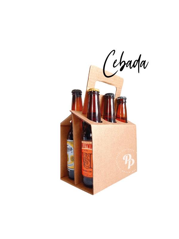 caja para 6 cervezas