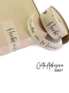 cinta adhesiva kraft personalizada