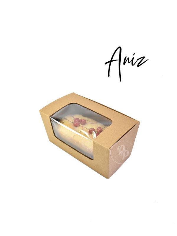 caja para panque