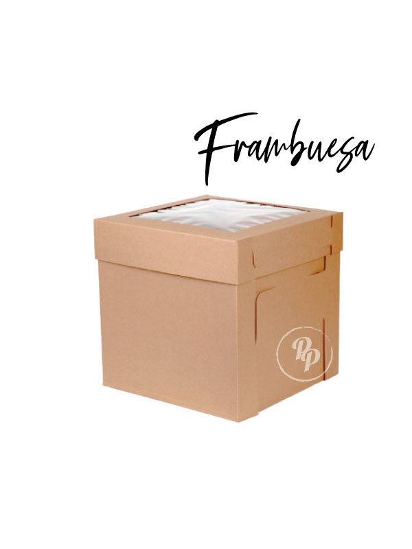 caja para pastel