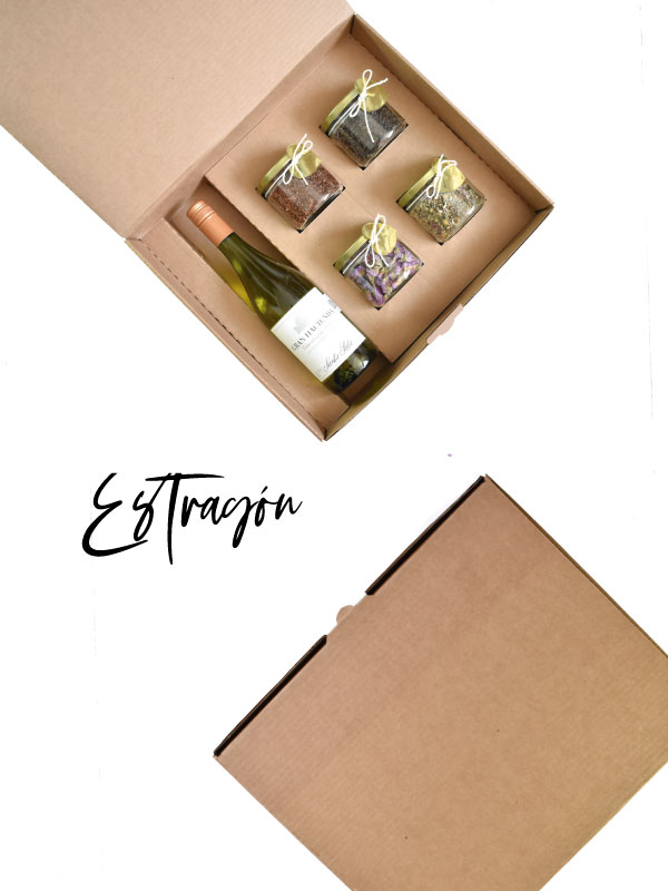 caja para vino
