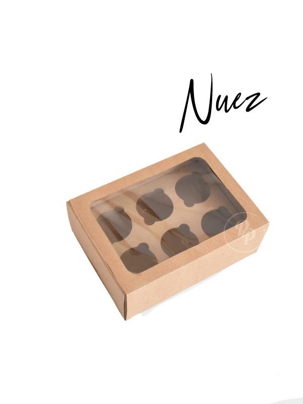 Caja para Cupcakes ecologica